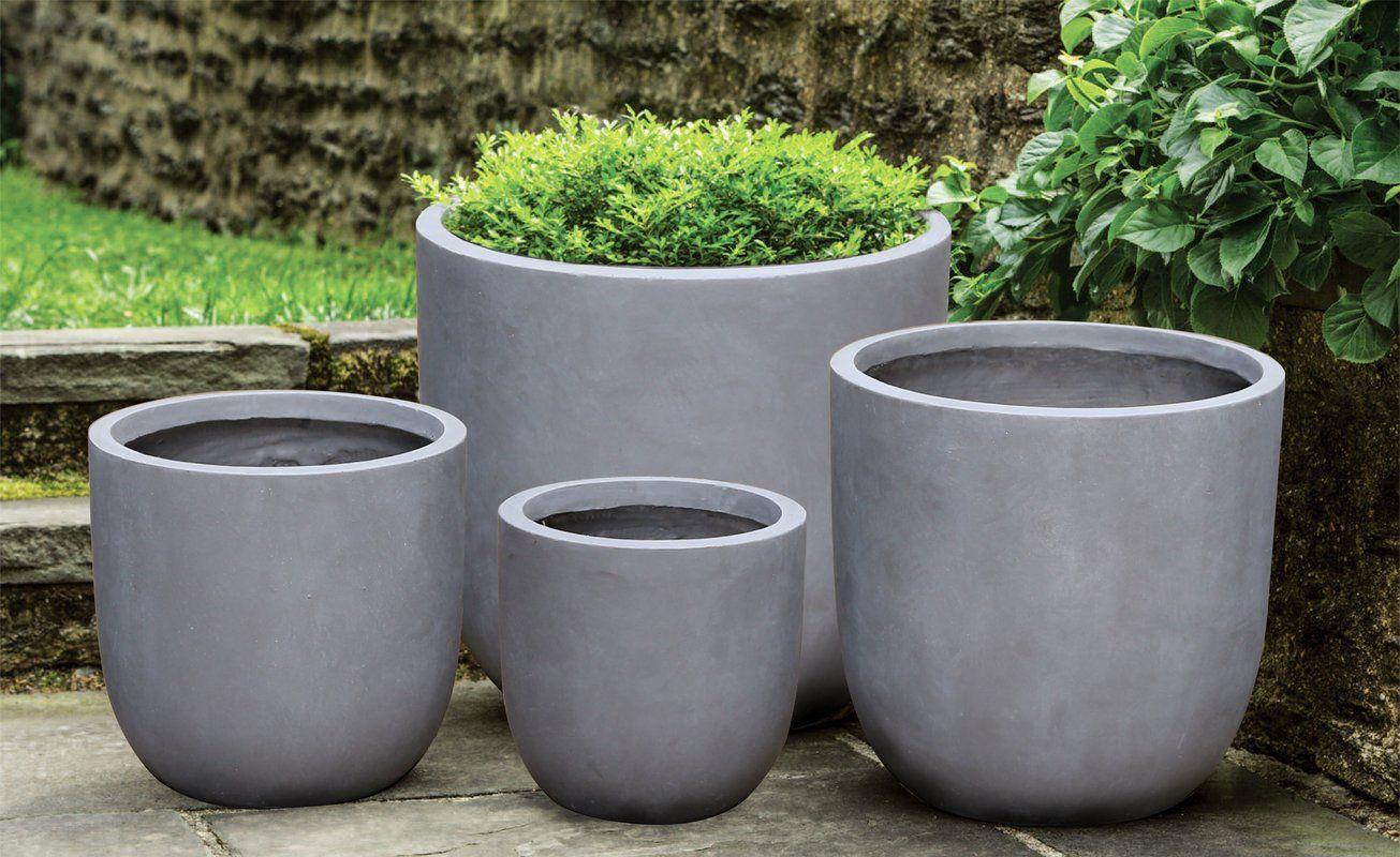 Modern Fiberglass Pot Planter Planters Cement Planters Outdoor Planters