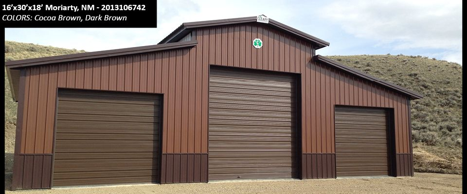 16 X30 X18 Cleary Suburban Building In Moriarty Nm