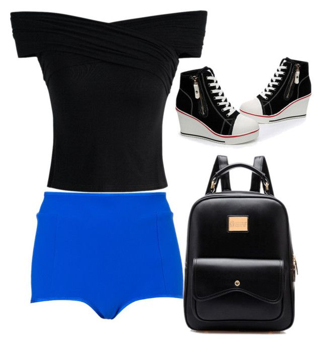 """""""Clutch"""" by zeni-gavi on Polyvore featuring moda, Topshop, Chicwish y TheRegulator"""