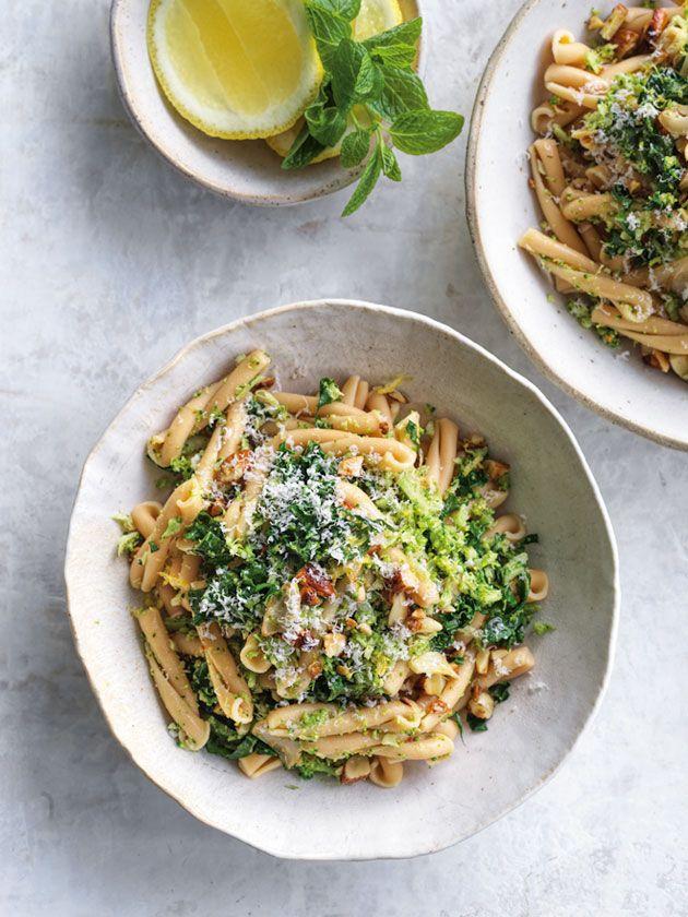 Chickpea Pasta With Cheats Broccoli Pesto recipe