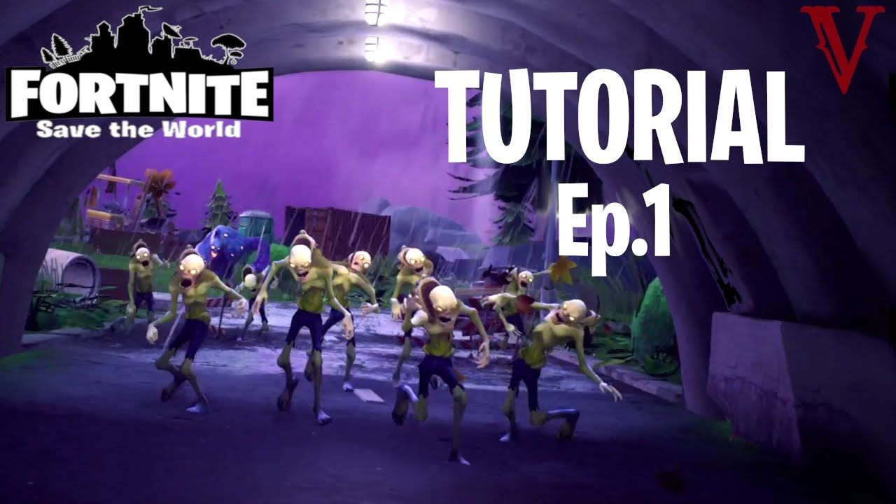 Low level pro solo series tutorial fortnite save the