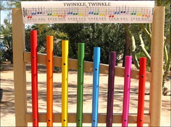 Nature Outdoor Playgrounds Sensory Interactive Musical Instruments Equipments Products Programs
