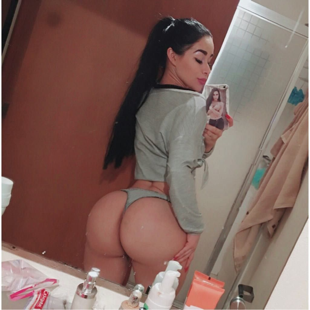 ass selfie Girl with nice