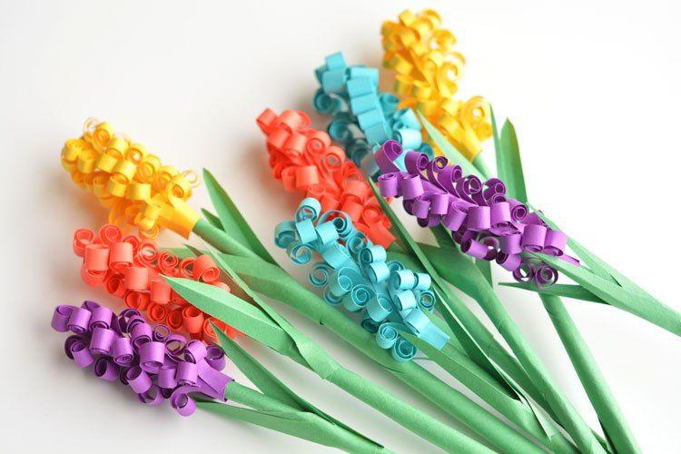 делюсь букет цветов из цветной бумаги своими руками днем рождения женщине