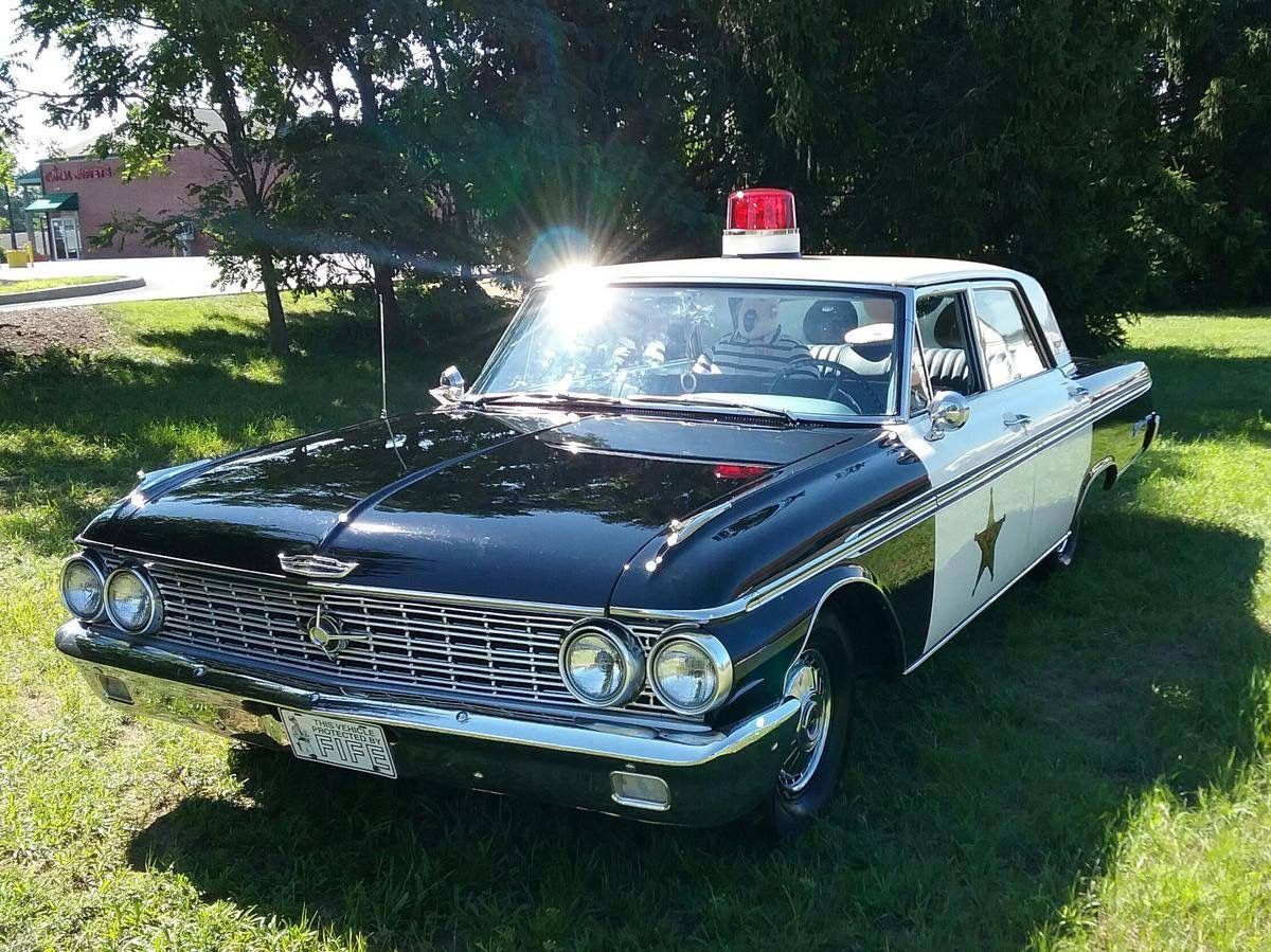 1962 ford galaxie 500 barney fife mayberry police car for sale