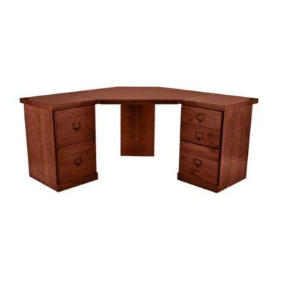 Original Home Office™ Corner Desk Group with 1-Cabinet Credenzas