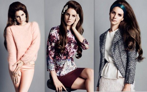 Lana del ray for h romantic fashion style with rachel