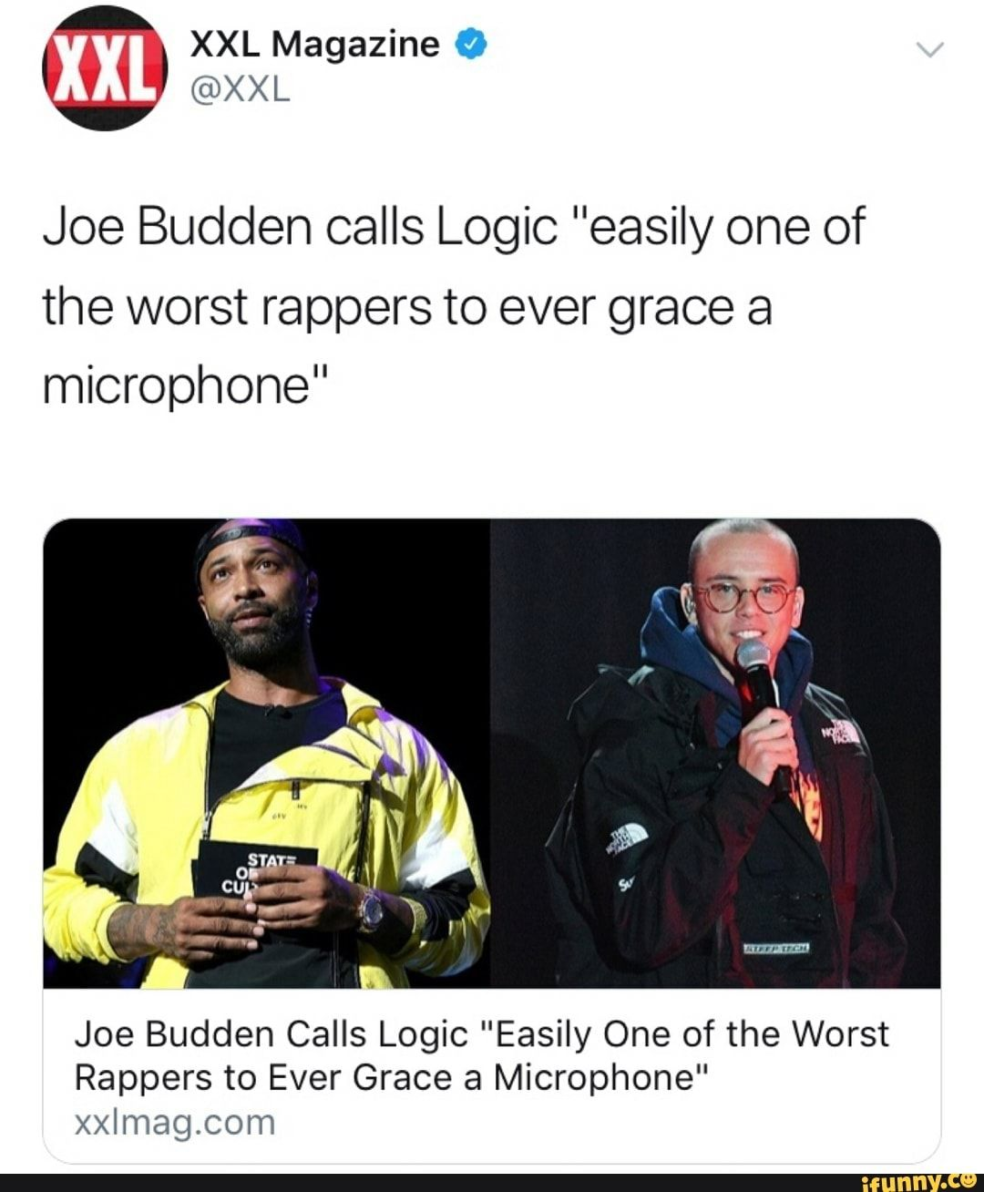 Joe Budden Calls Logic Easily One Of The Worst Rappers To Ever Grace A Microphone Joe Budden Calls Logic Easily One Of The Worst Rappers To Ever Grace A Micr In 2020