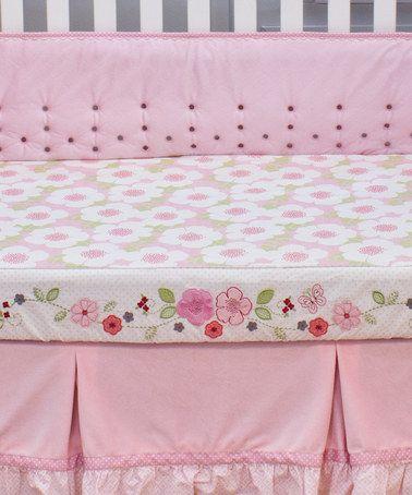 Look what I found on #zulily! Garden District Decorator Crib Sheet #zulilyfinds