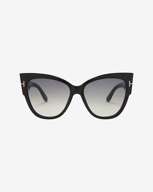 37c4c54a66ef1 Tom Ford Anoushka Cat Eye Sunglasses Espejuelos, Gafas De Sol, Lentes, Ojos,