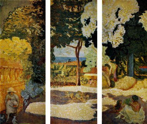 Pierre Bonnard, The Mediterranean. Triptych on ArtStack #pierre-bonnard #art, via oceane-ingrid gupper