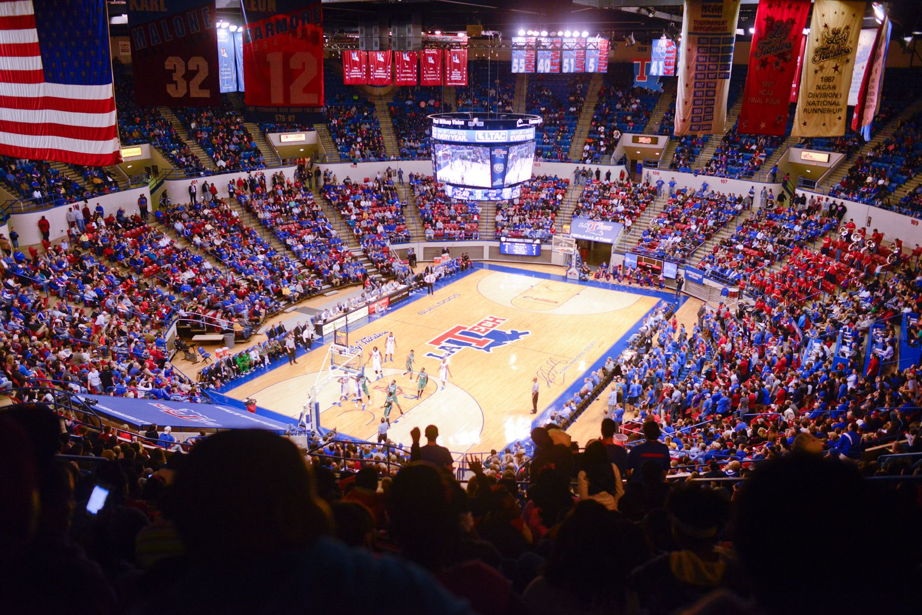 Thomas Assembly Center Louisiana tech, Bulldogs
