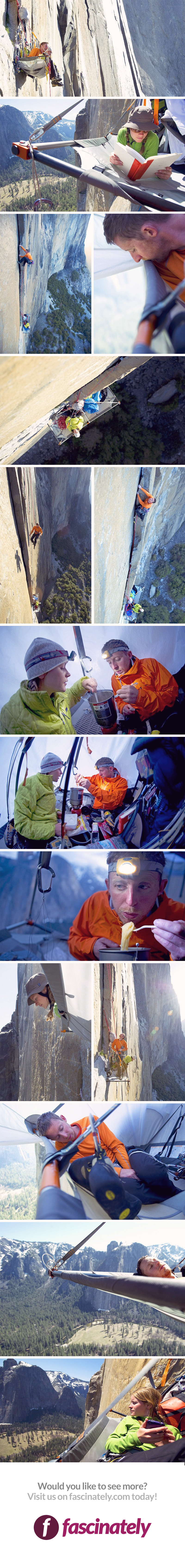 Camping Is A Great Outdoors Activity But This Brave Couple Takes