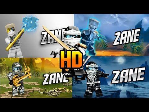 LEGO® Ninjago ZANE in all seasons 3 4 5 6 (Fan-Made) HD - YouTube
