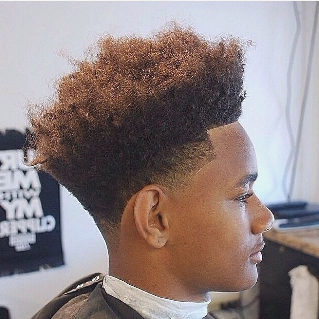 Undercut Low Fade Black People