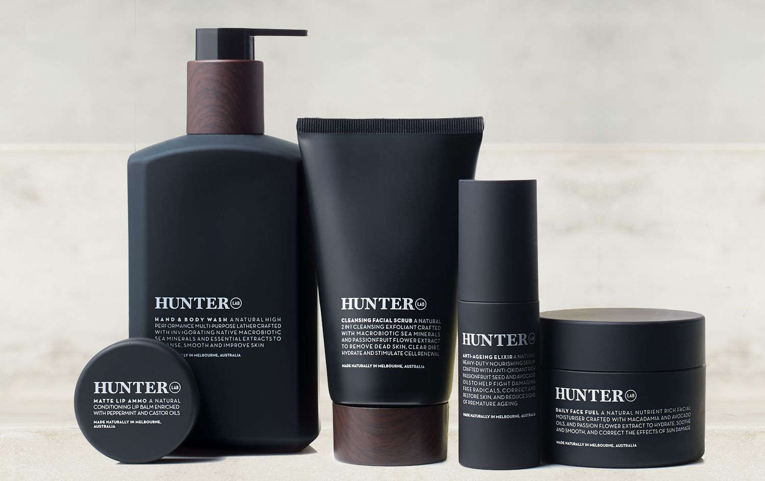 Hunter Lab Mens Skincare With Images Skin Care Shopping Mens