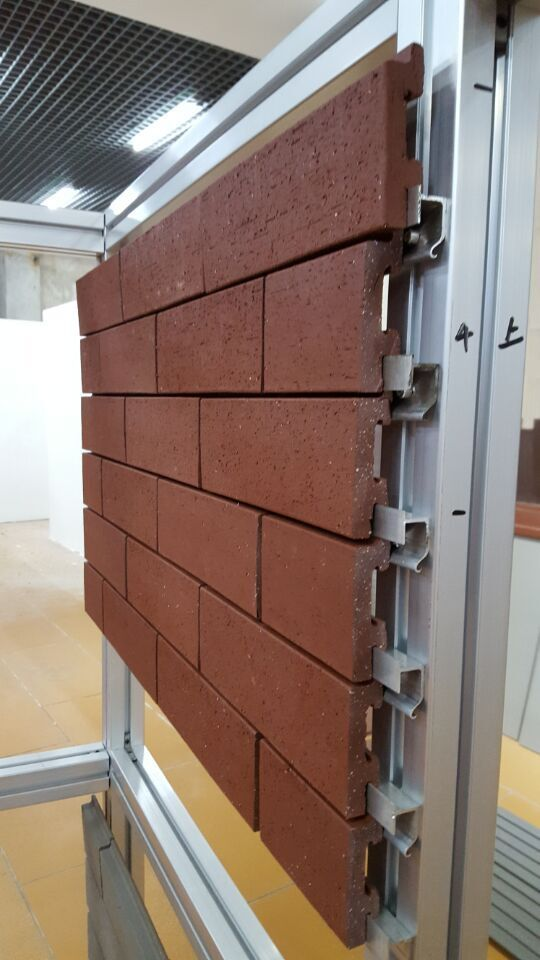 Corium Wall Brick Cladding System 6 Exterior Wall Cladding Cladding Systems Brick Cladding