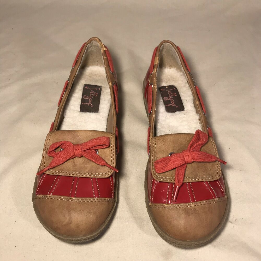 Women's On Ponie Jellypop Slip Waterproof Shoes Size Redbrown xQroeEdCBW