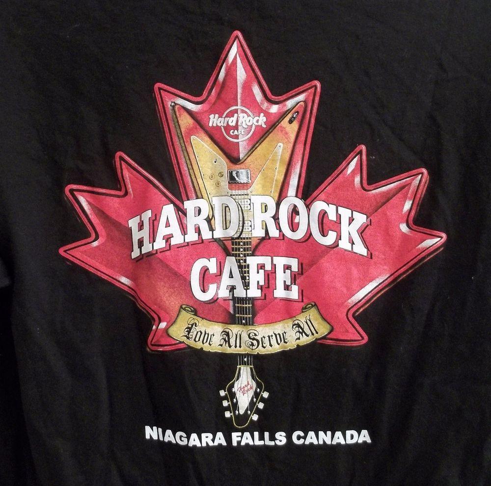 ee86bd6a53d6 Hard Rock Cafe Niagara Falls Canada T-Shirt Adult L Large  HardRockCafe