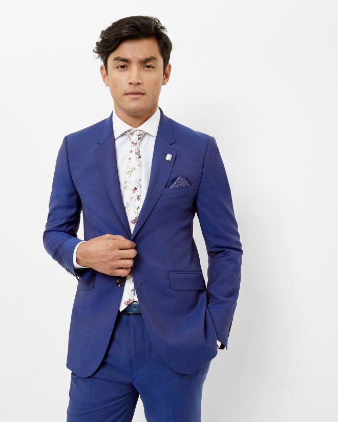 edac31e72 Sterling wool jacket - Bright Blue