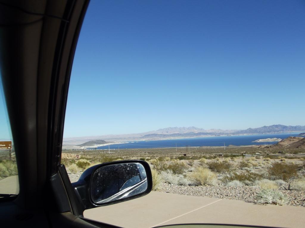 Lake mead airplane view lake mead photo