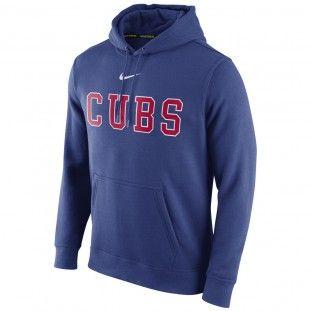 Chicago Cubs Nike MLB Club Hoodie 1.5 (Navy)