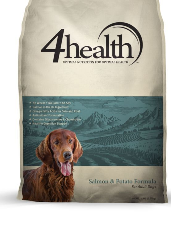 4health Salmon Potato Formula For Adult Dogs 5 Lb Bag