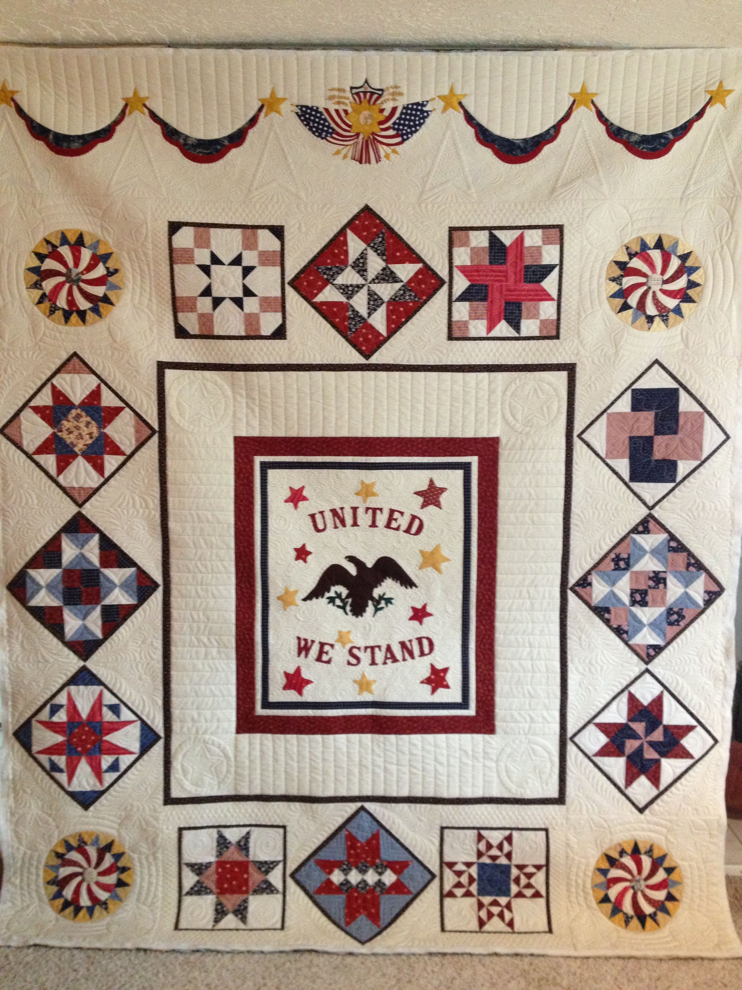 Jenny's beautiful quilt - to be entered in the American Heritage ... : quilting contests - Adamdwight.com