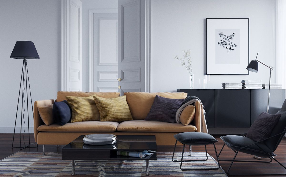 """Check out this @Behance project: """"Living room"""" https://www ..."""