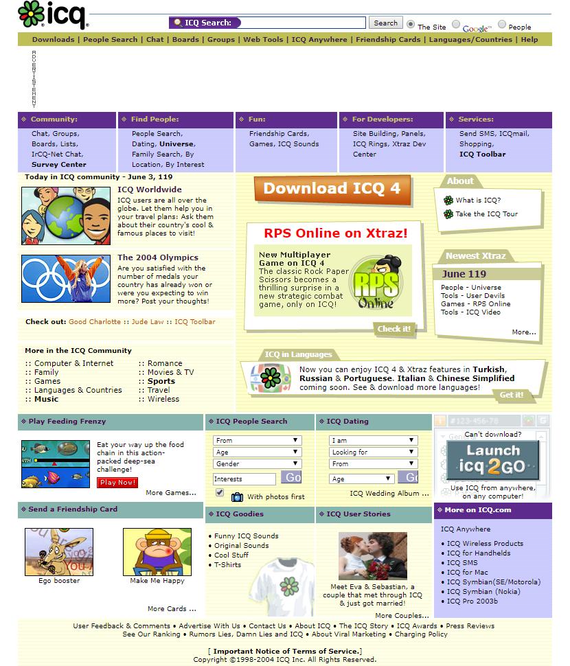 Orkut Website In 2004 Web Design Design Design Museum