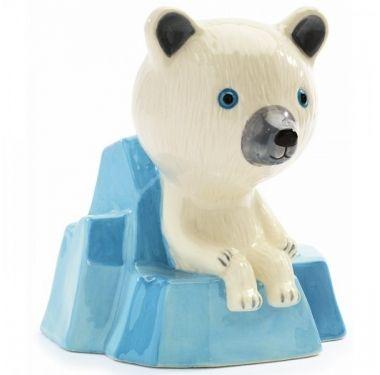 Djeco Money box Polarbeer