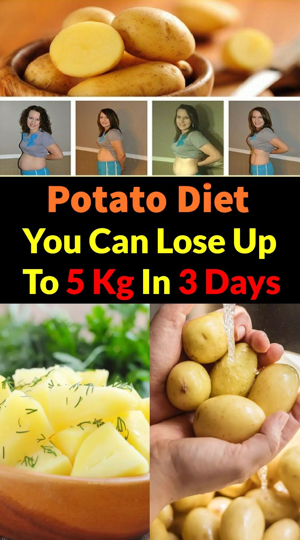 what can you eat on potato diet