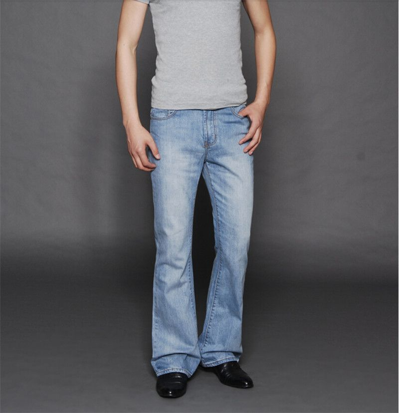 Mens flared bootcut