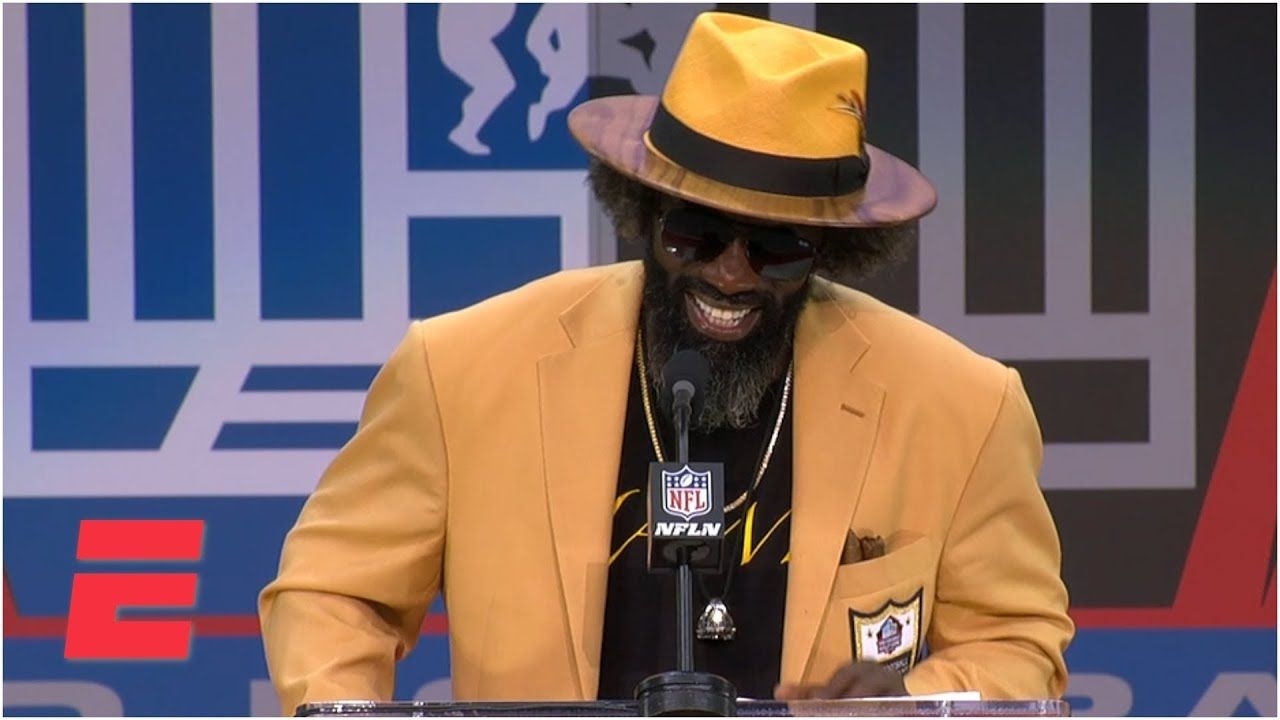 Ravens alltime great Ed Reed gives Hall of Fame speech