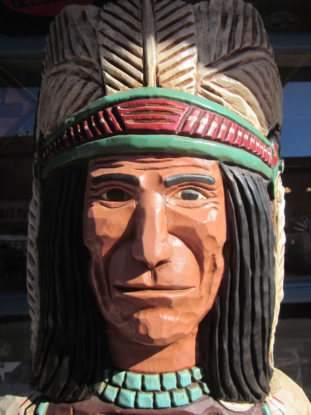 Cigar store Indian. | In the Neighborhood | Cigar store ...