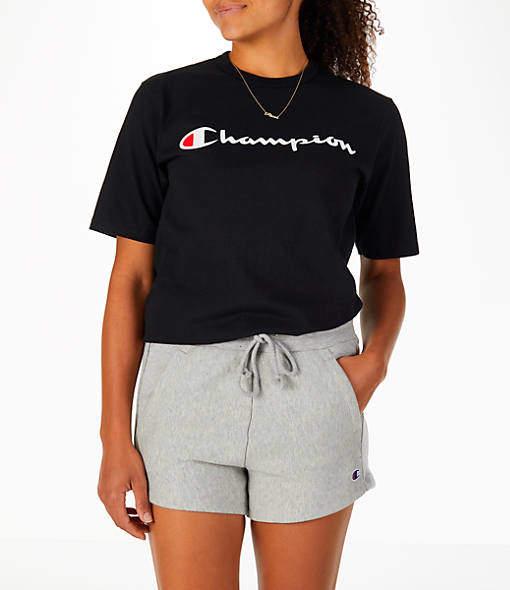 Champion Women's Heritage HBR T-Shirt | Champion clothing ...