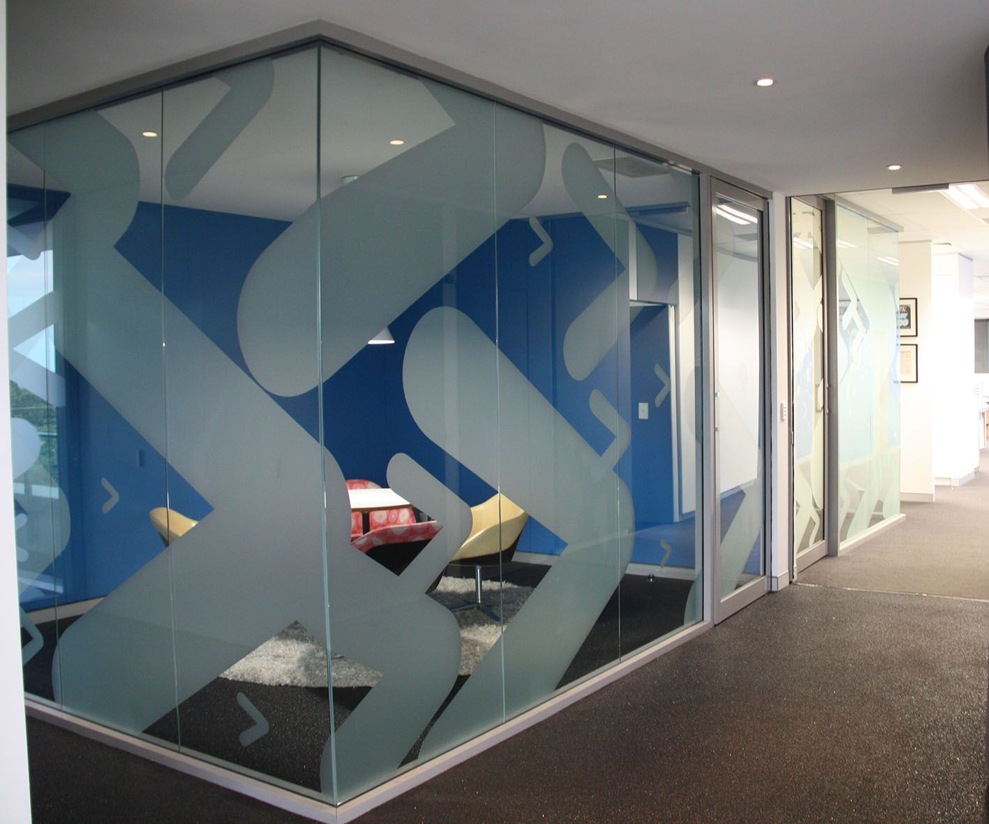 Office Frosting and Window Film Ideas