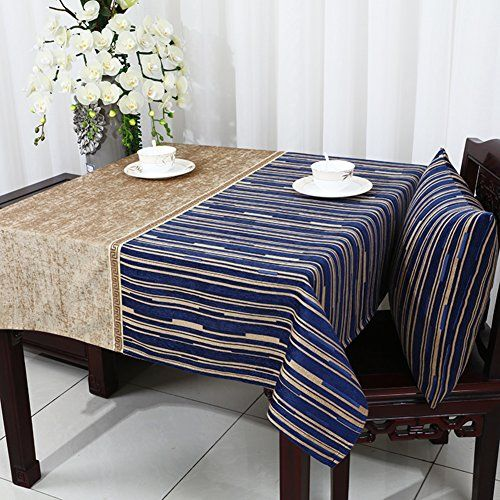 Pastoral American Style Clothfabrics Chenille Table Cloth Table - Office desk table cloth