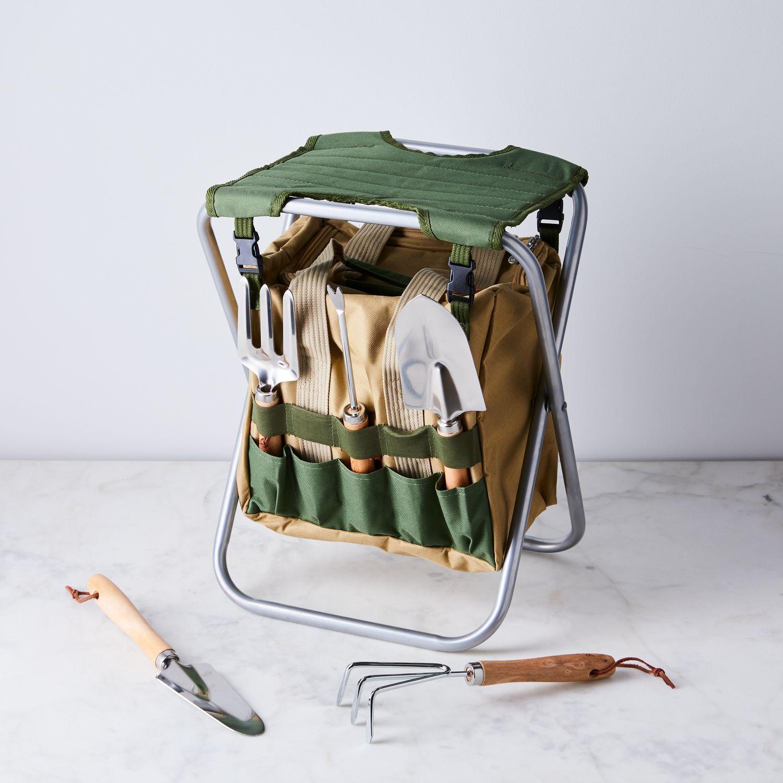 fe8a92a74106d5747b3e4300cb75e555 - Picnictime Gardener Chair And Tools Set