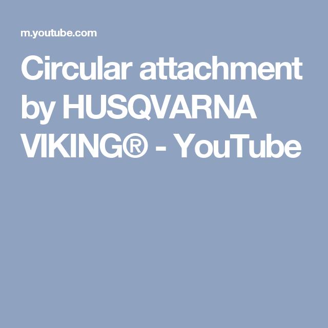 Circular Attachment By HUSQVARNA VIKING®