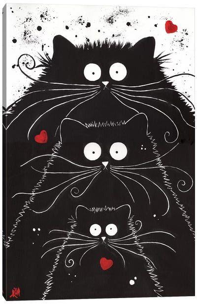 canvas wall art by kim haskins icanvas in 2020 cat art on icanvas wall art id=16466