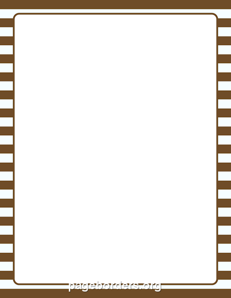 Brown And White Striped Border Clip Art Page Border And Vector Graphics Fabric Wall Coverings Color