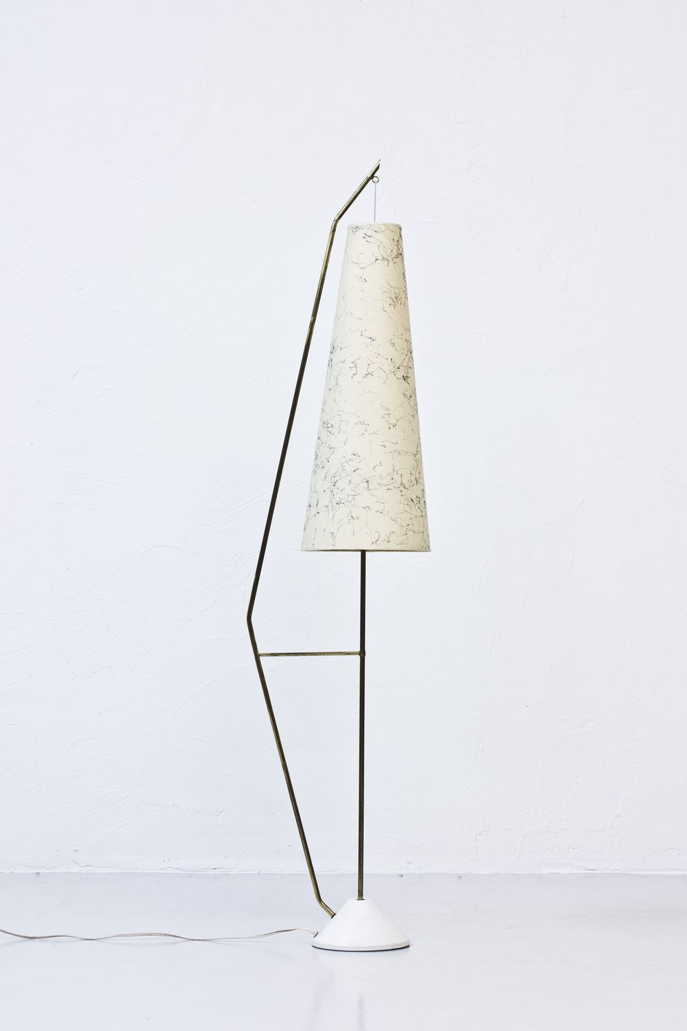 Modernist 1950s Floor Lamp Via Modernisten Click On The Image To See More Decorative Floor Lamps Modern Lamp Shades Antique Lamp Shades