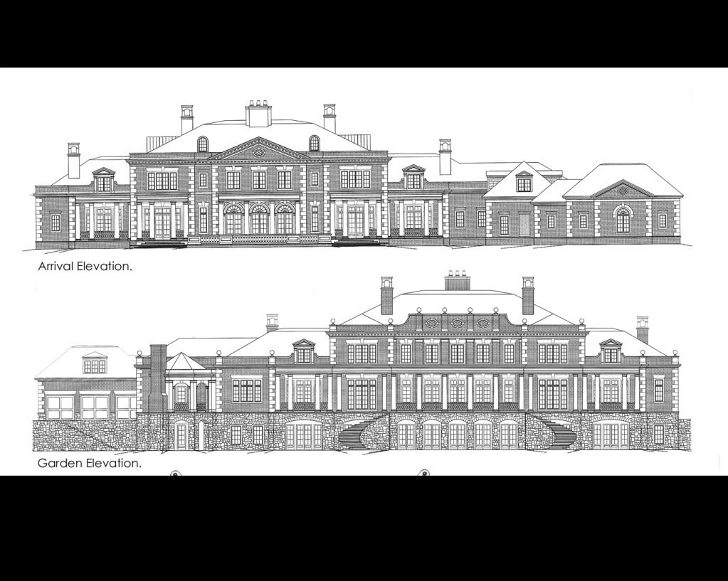 stephen fuller designs high style georgian manor drawings