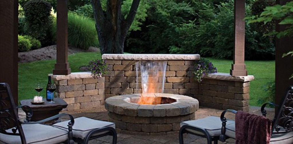 pics photos outdoor fireplace