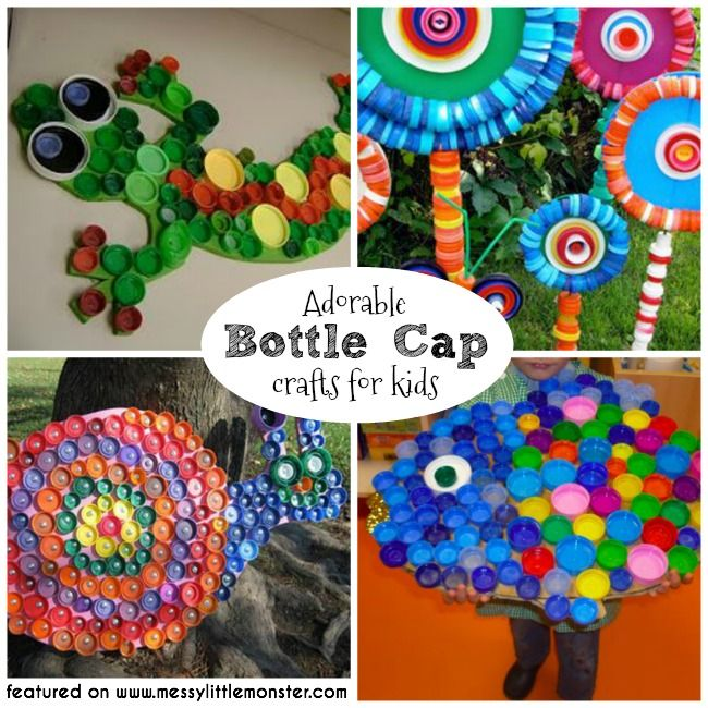 Awesome Bottle Cap Craft Ideas For Kids Part - 3: Bottle Cap Crafts For Kids