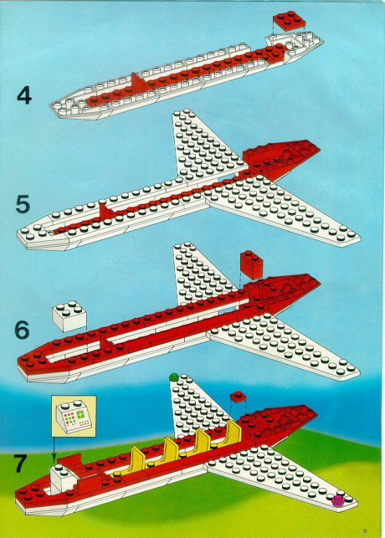 Town Airport Lego 6392 Legos Pinterest Lego Lego