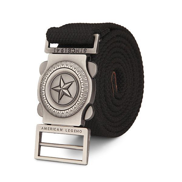 Canvas Belt High Quality Casual Pants Strap Large Size Canvas Belt For Adult Male Pants Belt
