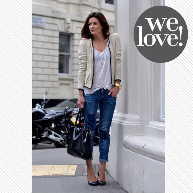 Street style: A lover of the classics | what to wear fashion daily feature casual friday  pictures