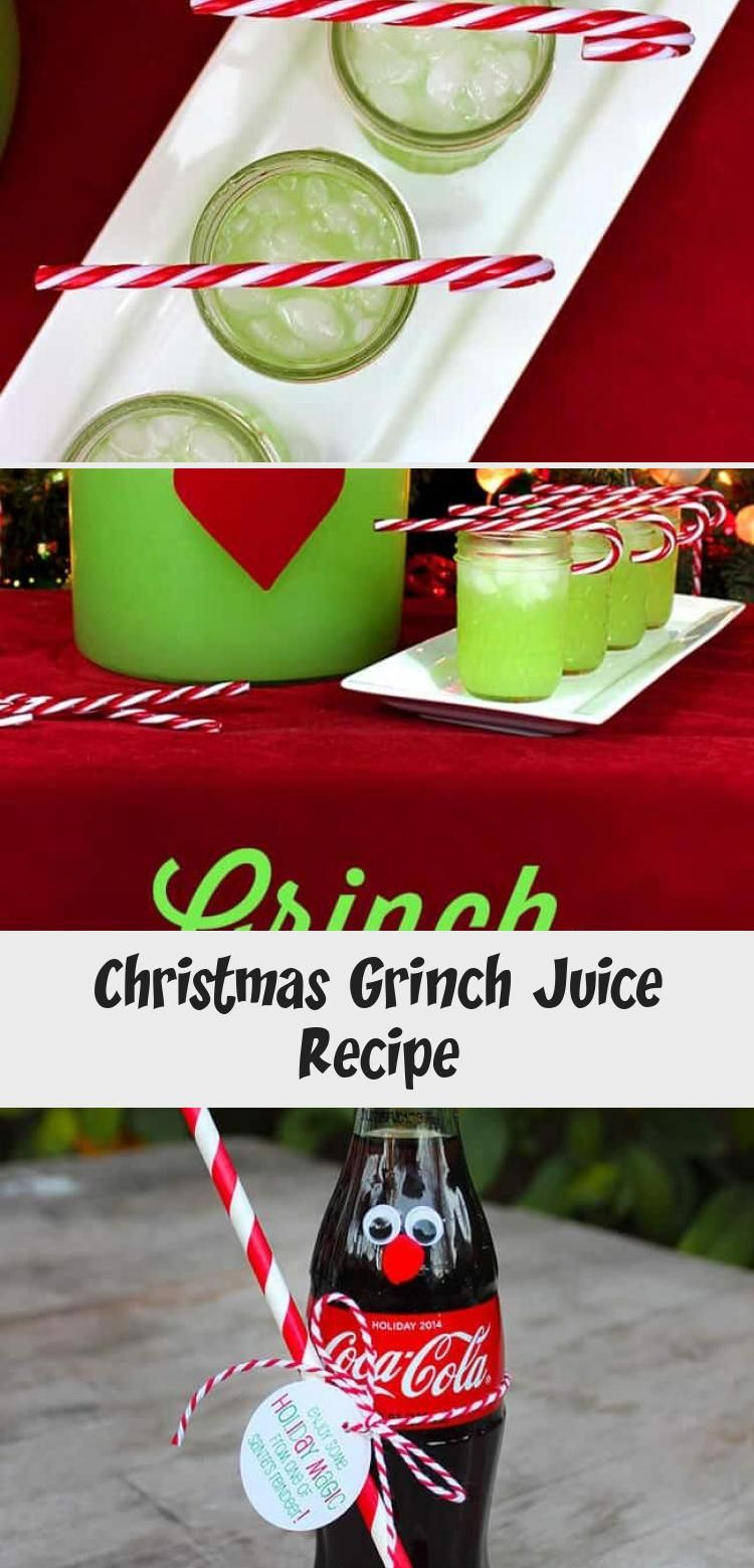 The Grinch Punch recipe #winterrecipeideas #grinchpunchrecipe